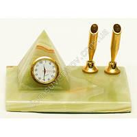 Часы офисные оникс пирамида плюс держатель для ручки