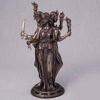 Бронзовая Статуэтка Геката - богиня волшебства (21 см)