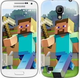 "Чехол на Samsung Galaxy S4 mini Minecraft 4 ""2944c-32-328"""