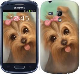 "Чехол на Samsung Galaxy S3 mini Нарисованный йоркширский терьер ""928c-31-328"""