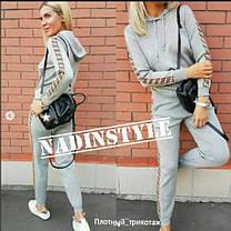 Костюм с лампасами FF штаны и кофта с капюшоном, фото 3