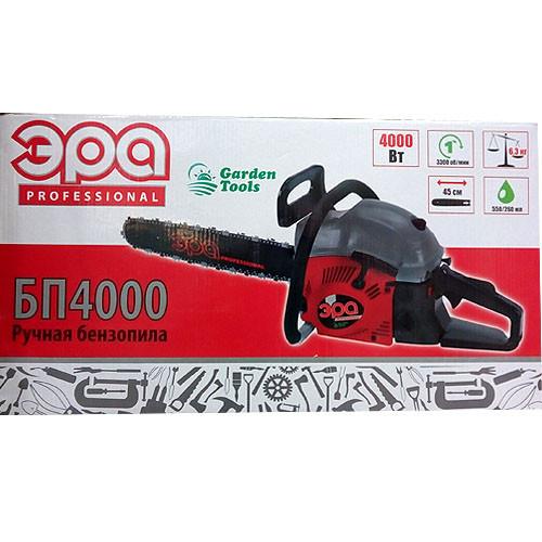 Пила бензиновая ЭРА БП-4000