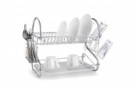 Сушка для посуды двухъярусная Con Brio СВ-850