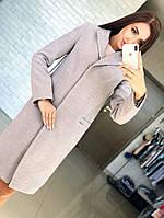 """Женское красивое теплое пальто """"Ласточка"""" (расцветки), фото 1"""