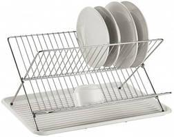 Сушка для посуды складная Con Brio СВ-851