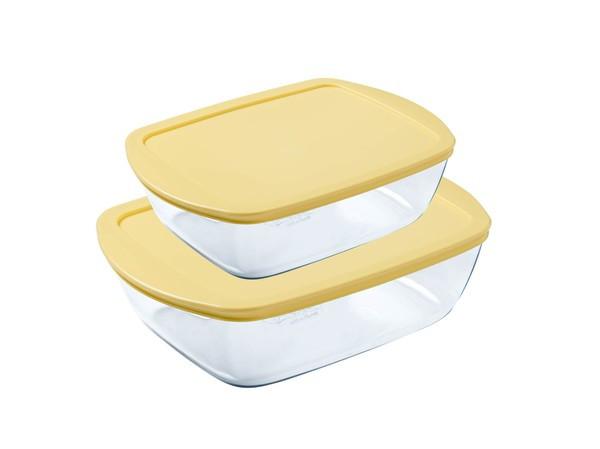 Набор форм PYREX Butter Yellow, 23х15 см, 28х20 см (912S945)