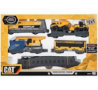 Железная дорога Дизельный тепловоз CAT Toy State Caterpillar Diesel Train