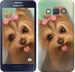 """Чехол на Samsung Galaxy A3 A300H Нарисованный йоркширский терьер """"928c-72-328"""""""