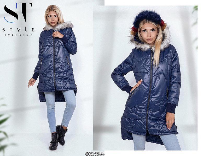 Стильная женская куртка пальто Размеры: 42,44,46,48