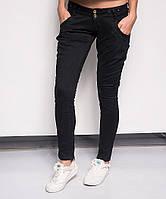 0109 Mardoc джинсы-галифе стрейчевые с заниженной талией (25-30, 6 ед.), фото 1