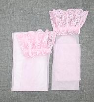Чулки капроновые розовый, фото 2