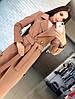 """Женское модное длинное пальто """"Дания"""" (2 цвета)"""