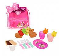 Игровой набор для пикника в рюкзаке Минни Маус  Minnie's Happy Helpers Picnic Set from Just Play