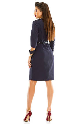 Платье 284 размер 46 темно-синее, фото 2