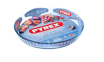 Форма для пирога Pyrex Classic Glass 28 см (813B000), фото 2