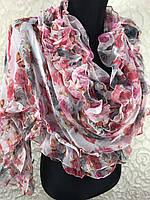 Шифоновый женский шарфик №1353(1)