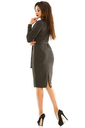 Платье 443 темно-серое, фото 2