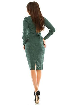 Платье 443 зеленое размер 46, фото 2