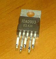 Микросхема TDA2003