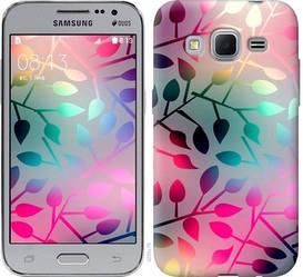 "Чехол на Samsung Galaxy Core Prime VE G361H Листья ""2235c-211-328"""