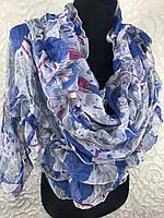 Шифоновый женский шарфик №1353(2)