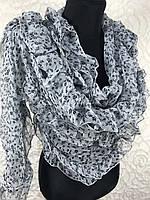Шифоновый женский шарфик №1353(3)