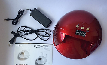 Професійна гібридна лампа UV+LED YQ3 (48 W)