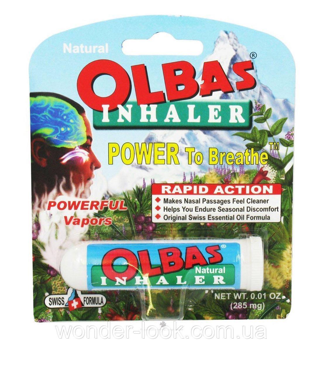 Olbas Therapeutic, Ингалятор, 0.01 унции (285 мг)