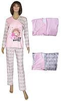 NEW! Нежные женские трикотажные пижамы серии Uni Lovely Pink Ежик ТМ УКРТРИКОТАЖ!