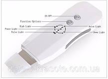 Аппарат для ультразвуковой чистки лица ultrasonik skin spatula, фото 3