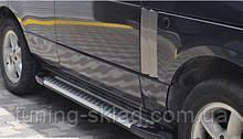 Силовые пороги Range Rover III L322 (вариант Almond Grey)