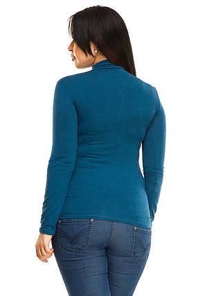 Гольф 5283 змейка джинсового цвета, фото 2