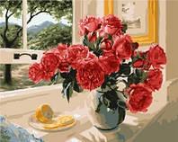 Картина по номерам  Brushme Лимонный акцент красных