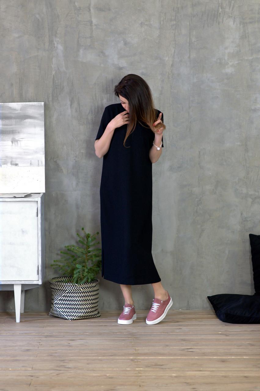 Кожаная обувь на толстой подошве