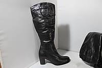 Женские кожаные сапоги Bata 39р., фото 1