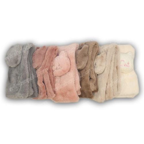 ОПТ Меховые шарфики Cat для девочки (6шт/набор)
