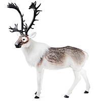 Новогодняя фигура Олень с имитацией искусственного меха 150*180см