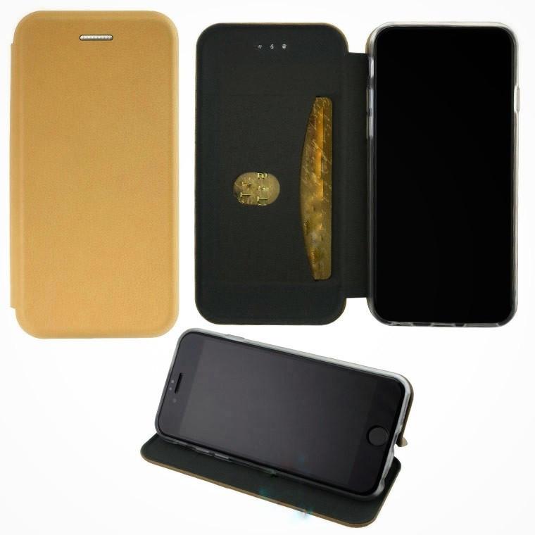 Чехол книжка Elite Case для Samsung S7 G930 золотистый