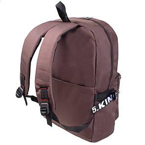 Рюкзак городской BagHouse Limited edition 45х33х14 коричневый ткань нейлон  ксСТ040кор, фото 2