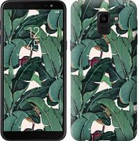 """Чехол на Samsung Galaxy J6 2018 Банановые листья """"3078c-1486-328"""""""