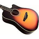 Гитара акустическая Trembita Leotone L-03 SB (струна, копилка, медиатор), фото 4