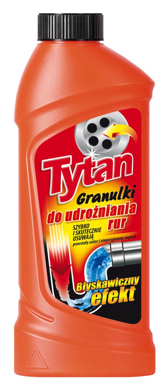 Засіб для чищення каналізаційних труб TYTAN гранули 400гр. Польща