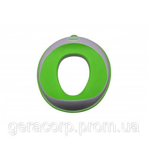 Кольцо на унитаз для детей Babyhood BH-109 (зеленый)
