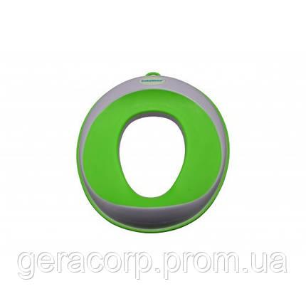 Кольцо на унитаз для детей Babyhood BH-109 (зеленый), фото 2
