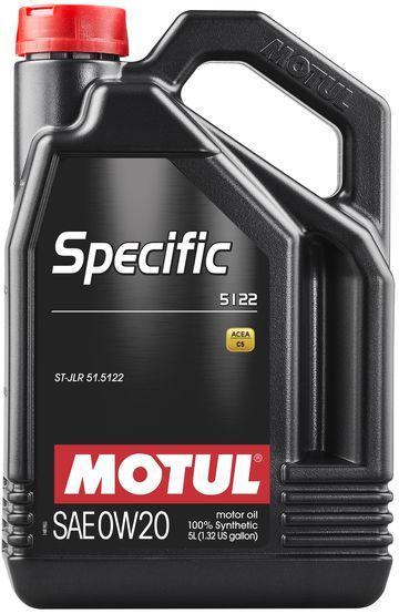 Моторное масло Motul SPECIFIC 5122 0W20 5L