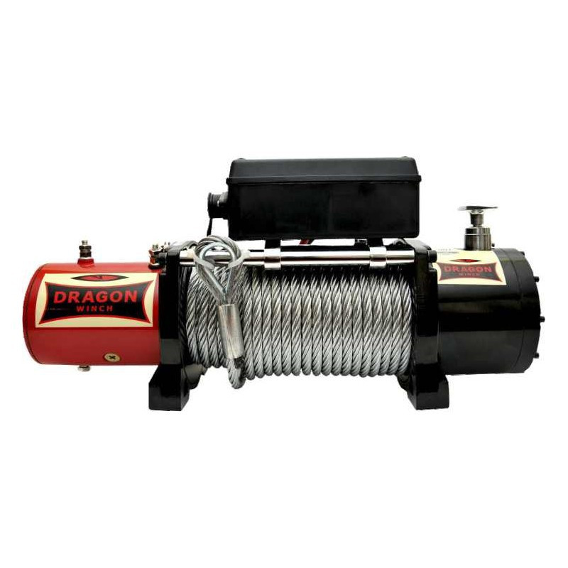 Лебедка автомобильная электрическая  Dragon Winch DWM 12000 HD
