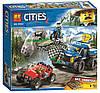 Конструктор Bela Cities 10862 Погоня (аналог Lego City 60172)