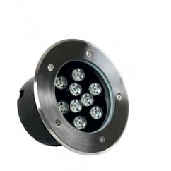 Светильник LED тротуарный Lemanso 9LED RGB 9W 450LM / LM10  красный\зеленый\синий\желтый