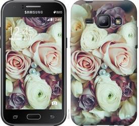 """Чехол на Samsung Galaxy J1 J100H Букет роз """"2692c-104-328"""""""