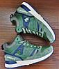 Мужские зеленые зимние кроссовки Saucony G.R.I.D Khaki Army, фото 2